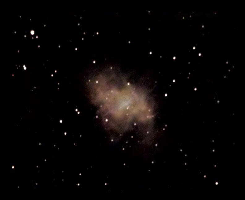 crab nebula to earth distance - photo #37